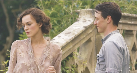 Film still from Atonement. Photo credit: TIFF Film Reference Library