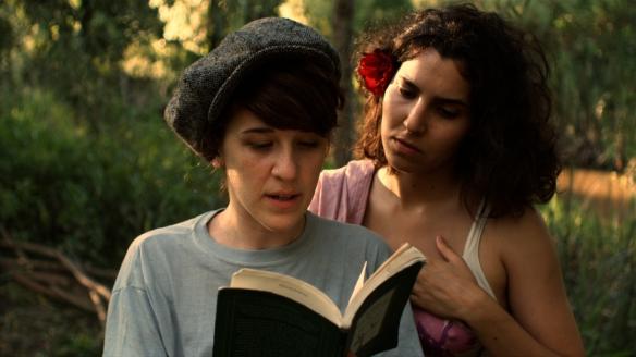 Film still from Rosalinda. Courtesy of Matías Piñeiro.
