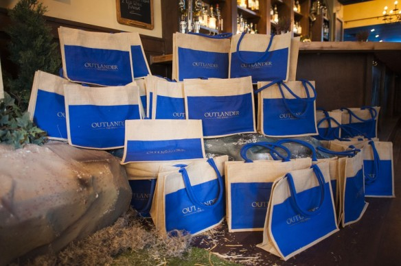 Swag bags. Photograph courtesy of Showcase and Sony Pictures Television.