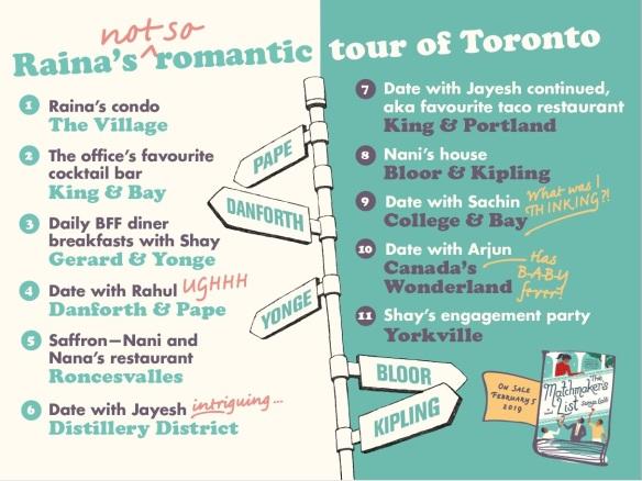 matchmaker's list - toronto